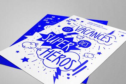 ÉVÈNEMENT : Les vacances des Super-héros !
