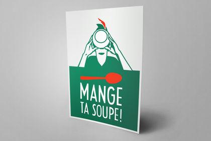 Affiche : Peter Pan ! Mange ta soupe !