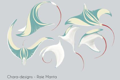 Chara-design - Raie Manta
