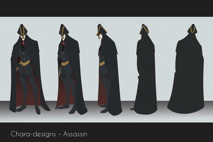 Chara-design - Assassin
