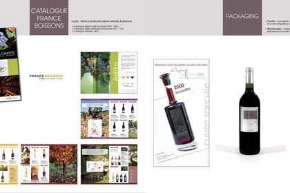 Catalogue et packaging