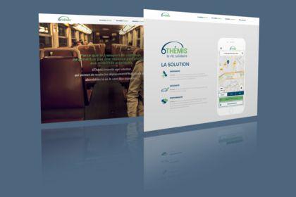 6themis - identité visuel & site web