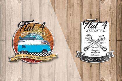 Stickers pour garage véhicule ancien