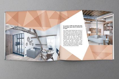 Réalisation magasine architecture intérieur