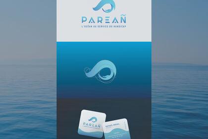 Identité visuelle - Parean, association de surf