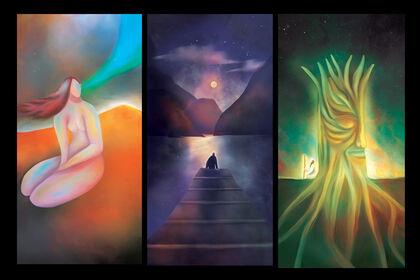 Illustration - Cartes oracle illustrées
