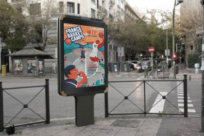 Affiche - FFBB Fédération française de basketball
