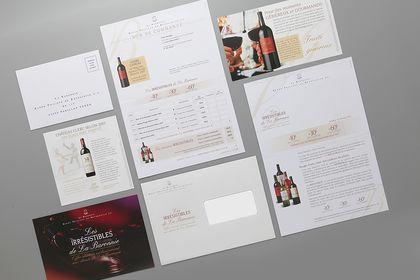 Mailing La Baronnie (Vins Philippe de Rothschild)