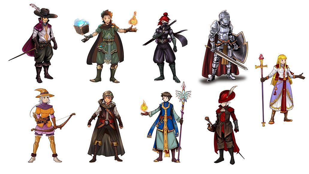 Personnages Anime fantasy - Jeune public