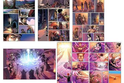 BD/Comic Style Fantasy