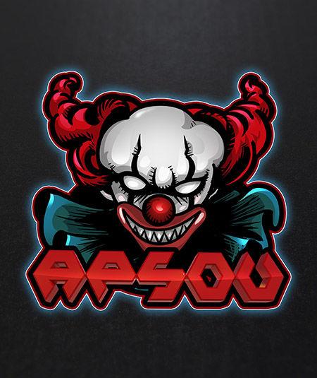 Esport Logo - Clown