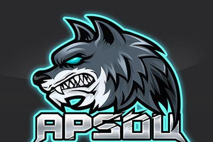 Esport logo - Loup