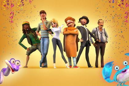 Characters Designs 3D pour court metrage animation