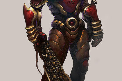 Style Marvel/DC Comic Character Design