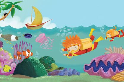Illustration pour livre enfant