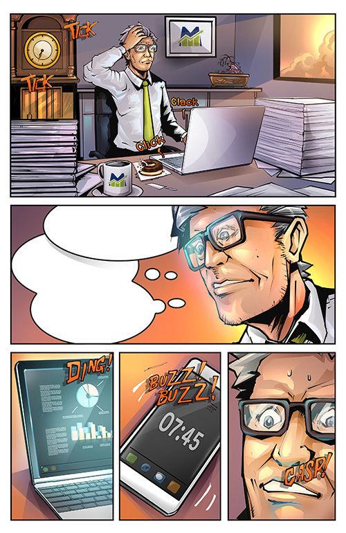 BD Style Comic