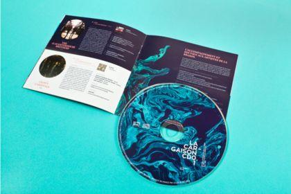 Pochette de cd +livret