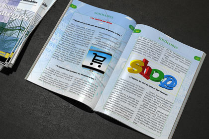 Livre, Brochure, Magazine
