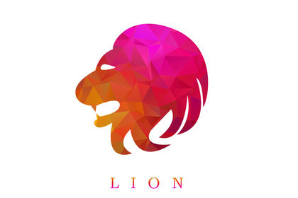 Lion logo by Lex Sow