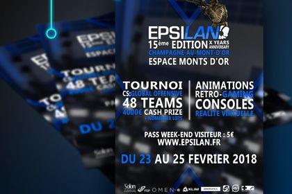 Flyer événement eSPORT - EPSILAN#15