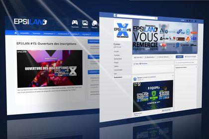 Visuels réseaux et site web