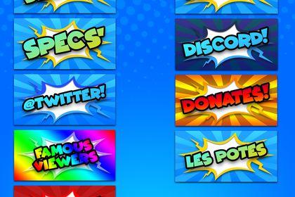 Packs icônes de profil