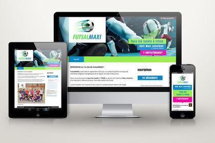 Webdesign FutsalMAXI