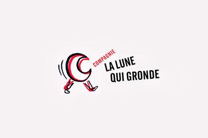Logotype La Lune Qui Gronde
