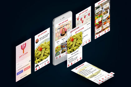 Template Application Yum & Cook