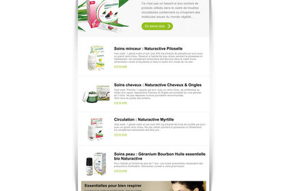 Emailing Naturactive