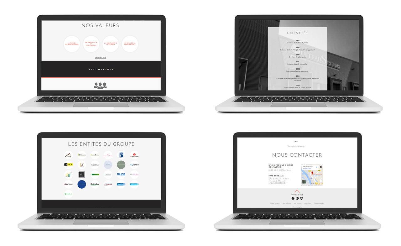 Home page - Bulteau développement