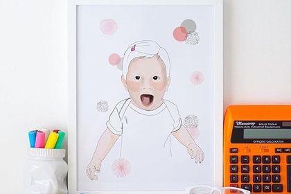 Portrait illustration enfant