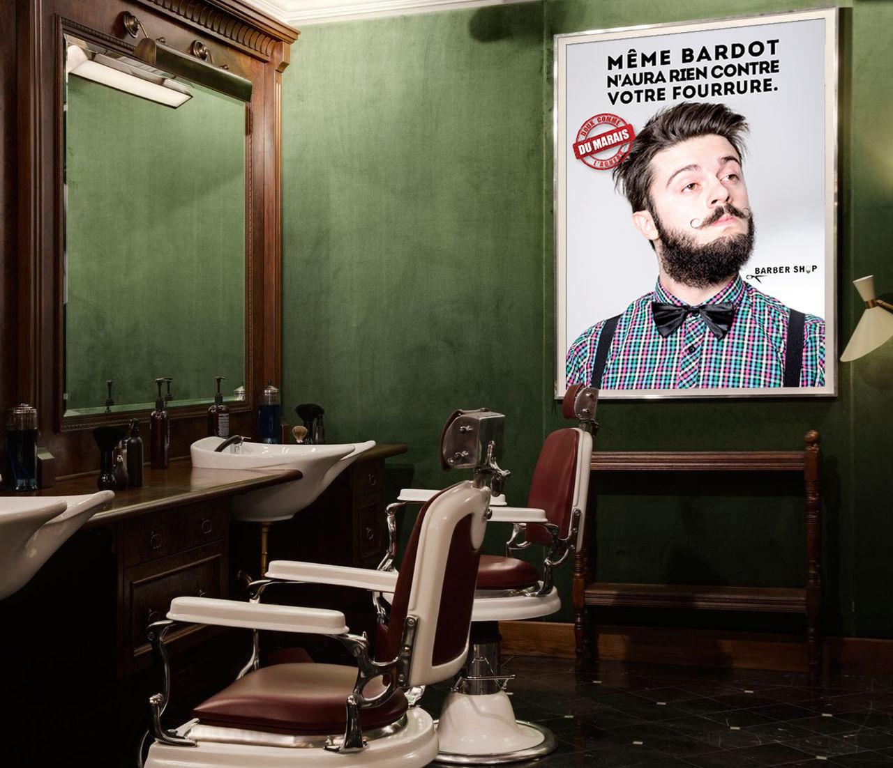 Affiche Barber Shop
