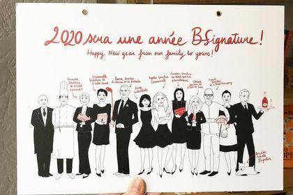 Illustration Groupe hôtelier BSignature