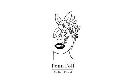 Logo Fleuriste Pen Foll