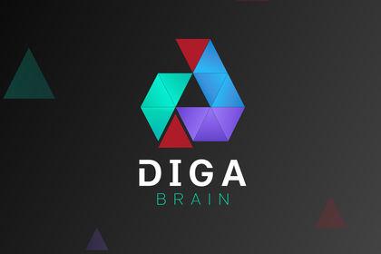 DigaBrain logo.