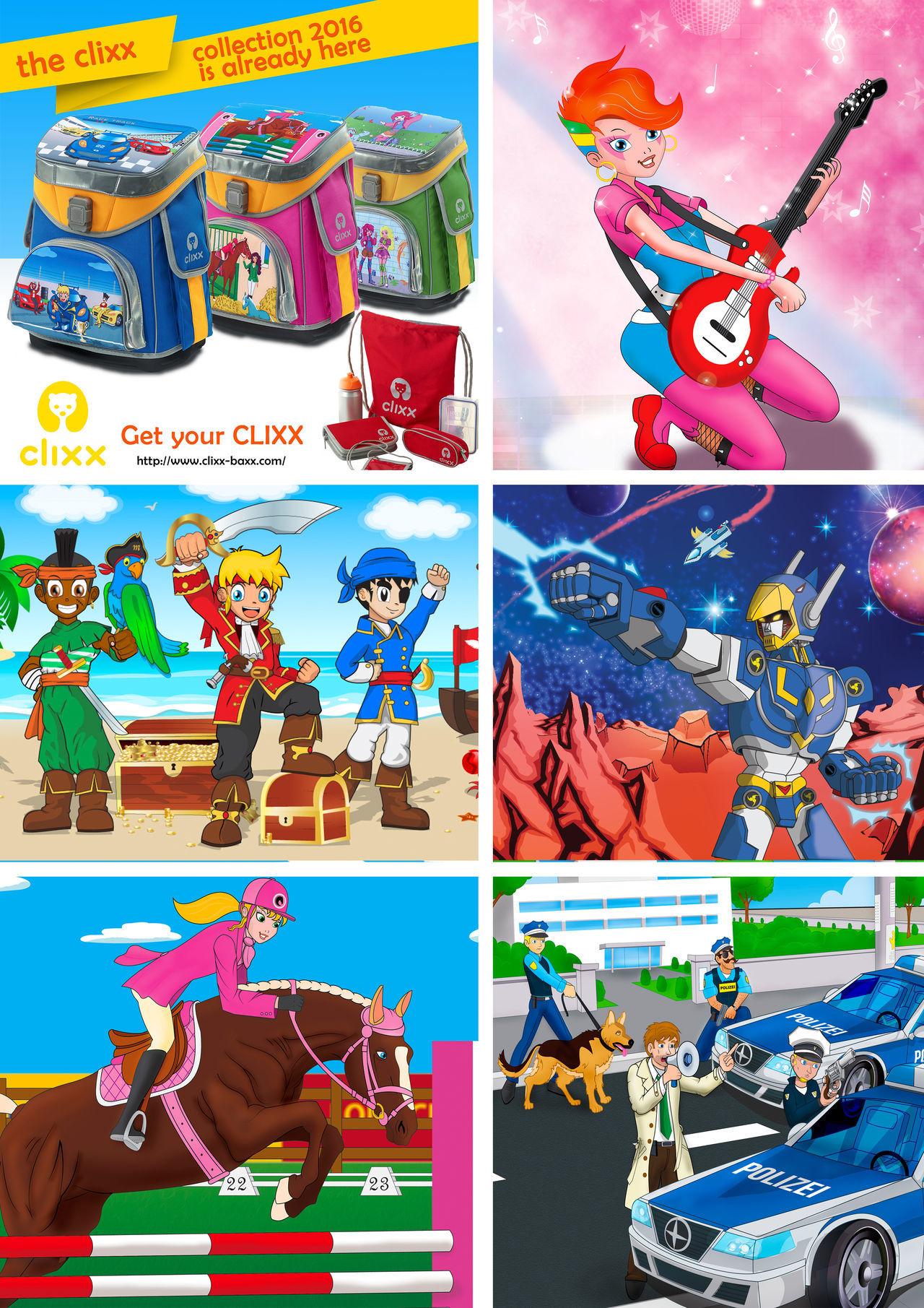 Illustrations Clixx