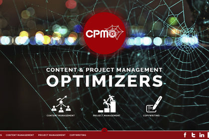CPMO, your web marketing done by a spider.