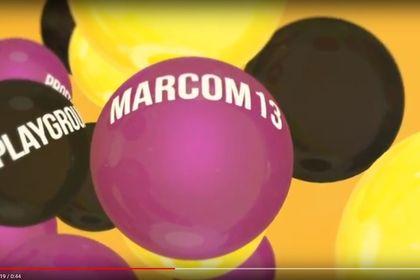 "Motion graphics video ""Marcom13"""