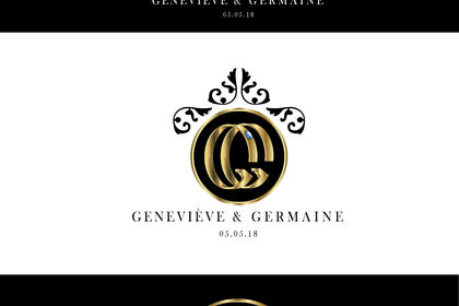 Logo GG, pour mariage