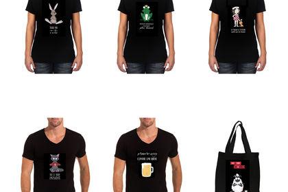 Tee-shirt pour le site MyTroc
