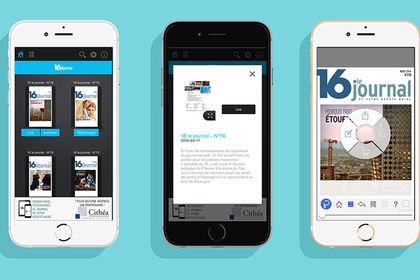 16 le journal : application digitale