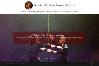 Website Antoine&Rocco