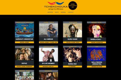 Site internet Tchekchouka