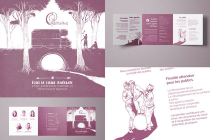Brochure Arts, vie & vents