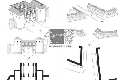 Deux portes antiques Éduennes