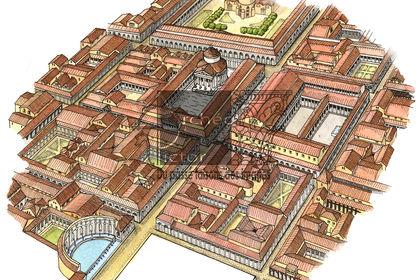 Le quartier monumental sud d'Augustodunum