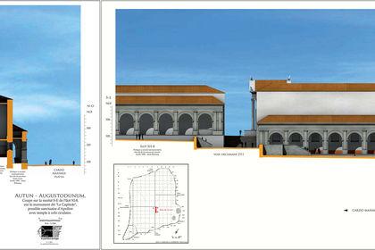 Le temple d'Apollon d'Augustodunum