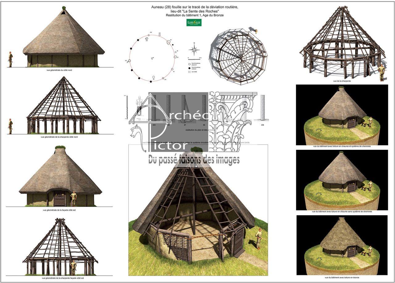 Un bâtiment circulaire du Néolithique Moyen