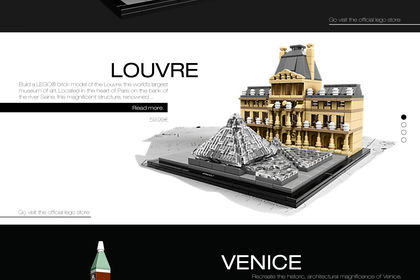 Lego Architecture Website